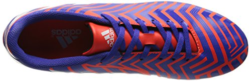 Adidas Performance Predito Instinct Firm-campo di calcio Cleat, Luce Flash Giallo / corsa Bianco / S solare Rosso / corsa Bianco / Notte Flash