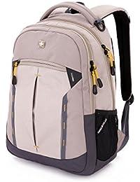 "SA5366.B Laptop Backpack, Khaki (Fits Most 15"" Laptops)"