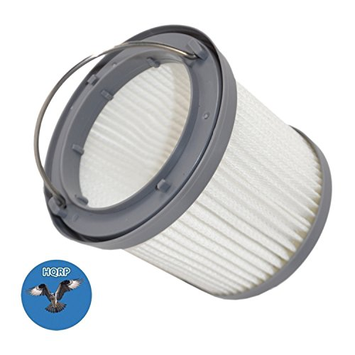 HQRP Washable Filter for Black & Decker BDH2000PL, BDH1600PL, BDH2020FLFH, BDH1620FLFH, BDH2020FLFH Flex Lithium Pivot Vac Vacuums + HQRP Coaster