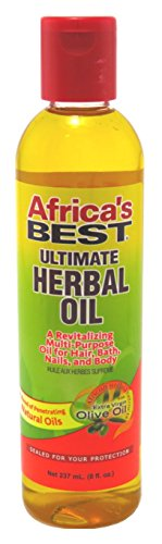 Africas Best Ultimate Herbal Oil 8 Ounce (235ml) (6 Pack)