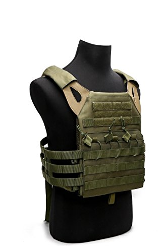 Tactical Airsoft Outdoor Molle Breathable JPG Vest Game Protective Vest