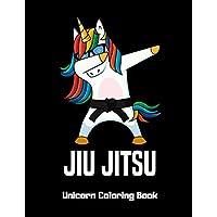 Jiu Jitsu Unicorn Coloring Book: A Fun Activity Book, Gift Idea For Kids, Unicorn Coloring Books For Girls Ages 4-8, Children