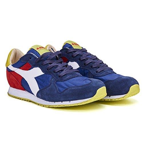 Chaussures De Sport Uomo Patrimoine Diadora Ny Trident Sw Blu Nylon Centre de liquidation Livraison gratuite vraiment classique jeu 2014 nouveau très bon marché pVSp7CB