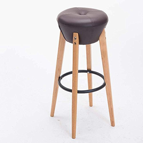 Vanity Classical (QTQZ Brisk- Solid Wood Bar Stool Retro Bar Chairs Home Fashion Foreground Stool Neo-Classical Stool (Color Optional) (Color: 8))