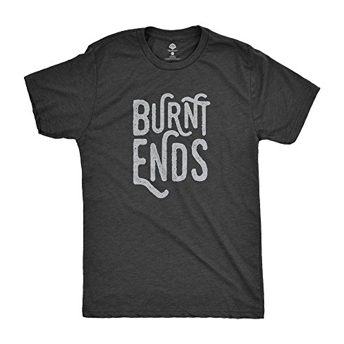 Green Smoke Trading Company Burnt Ends T-Shirt For GRILLERS and Smokers (Barbecued Beef Ribs)