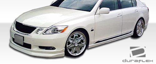 Duraflex Replacement for 2006-2007 Lexus GS Series GS300 GS350 GS430 GS450 GS460 R-Sport Front Lip Under Spoiler Air Dam 1 Piece