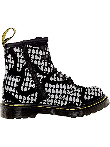Dr. Martens Boy's Brooklee Snake Ankle-High Fabric Boot