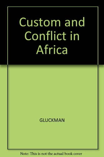 custom and conflict in africa - 2