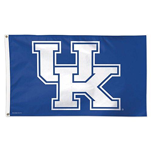 WinCraft NCAA University of Kentucky 02075115 Deluxe Flag, 3' x - Nba Wildcats Kentucky