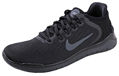 15548f6e9144a Galleon - NIKE Women s Free RN 2018 Running Shoe Black Anthracite Size 7.5