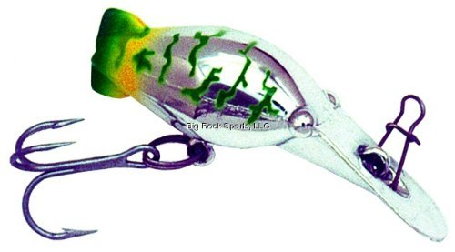Hot Shot Fishing - Luhr Jensen Hot Shot Hard Bait, Black Scale, 70