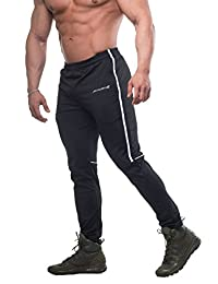 Men's Slim-Fitted Workout Joggers Gym Casual Tapered Sweat Pants