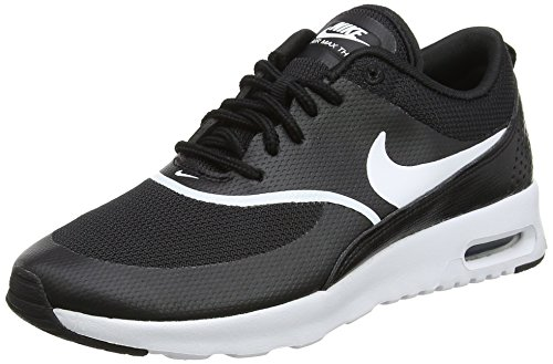 Baskets Femme black Air Thea white 028 Noir Max Nike qw4tIOS