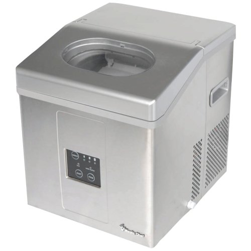 lb Portable Ice Maker Silver