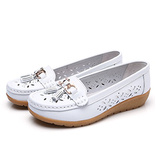 Nevera Womens Casual Slip-on Lightweight Comfort Outdoor Wedge Shoes