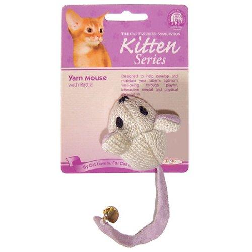 JPI Jakks Cfa Kitten Yarn Mouse Nip, My Pet Supplies