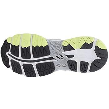 Asics Womens Gel-kayano 24 Glacier Greywhitecarbon Running Shoe - 10 6