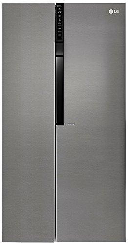 LG Electronics GSB 360 BASZ Side-by-Side Kühl-Gefrier-Kombination/A++ / 179 cm / 392 kWh/Jahr / 394 L Kühlteil / 219 L Gefrierteil/No Frost [Energieklasse A++]