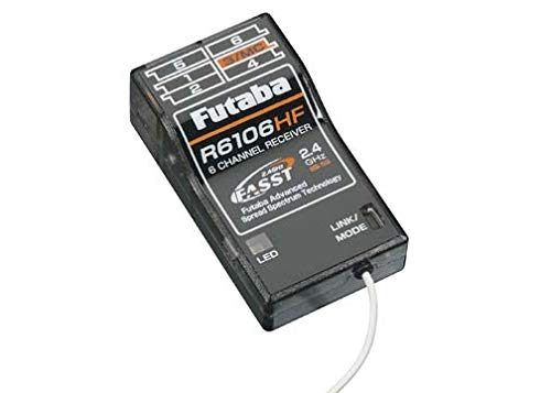 Futaba R6106HF 2.4GHz FASST 6 Channel Rx Park Flyer Receiver