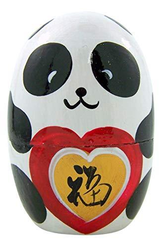 Japanese Panda Bear Animal Stacking Nesting Doll, 4 ()