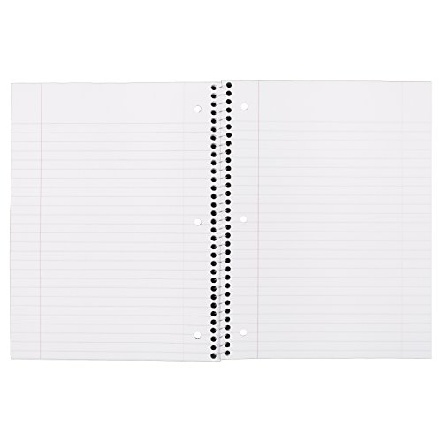 043100055105 - Mead Spiral 1-Subject Wide-Ruled Notebook, 1 Notebook, Color May Vary, Assorted Colors  (05510) carousel main 7