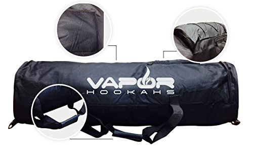 VAPOR HOOKAHS TRAVEL HOOKAH BAG: SUPPLIES FOR HOOKAHS – This narguile pipe accessory is made in China. They are portable travel accessories for your shisha pipes. (Small) by Vapor Hookahs (Image #4)
