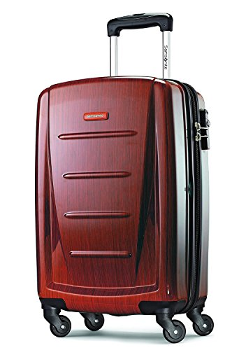 Samsonite Luggage Winfield 2 Fashion HS Spinner 20 - On Luggage Carry Burgundy