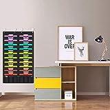 Heavy Duty Wall Storage Pocket Chart ,20+6