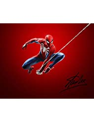 STAN LEE Reprint Signed Autographed SPIDER-MAN 8x10 Photo Print RP