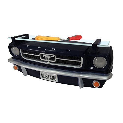 Ford Mustang Black Front End Wall Shelf
