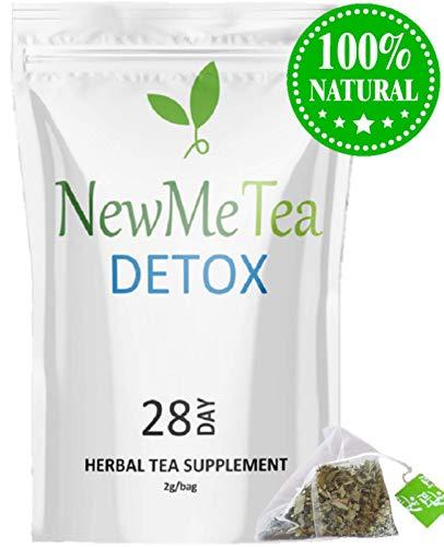 (28 Day Detox Cleanse Tea (Weight Loss, Fat Burn, Slim, Skinny Fit, Calm Body + Skin) 100% Natural & Delicious Taste. Increase Metabolism + Energy, Decrease Appetite +)