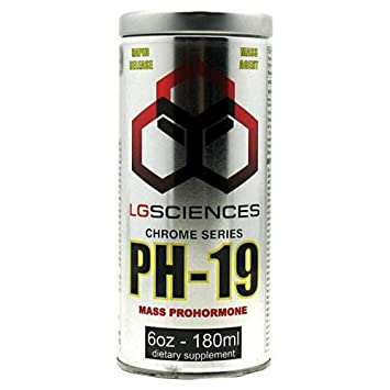 LG Sciences Chrome Series PH-19 6 Oz - 180 ml