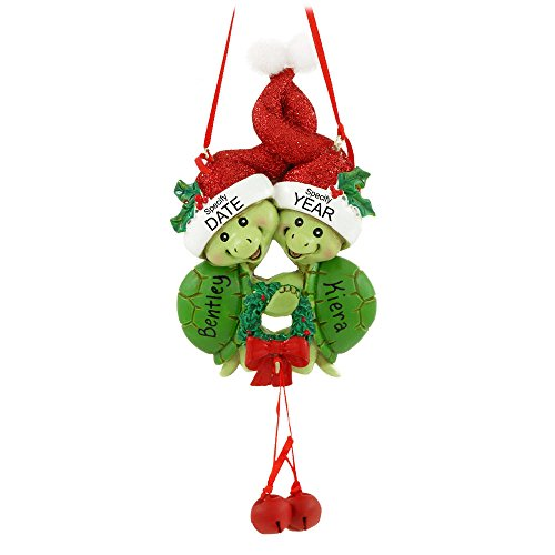 Turtle Couple Christmas Ornament by Kurt Adler