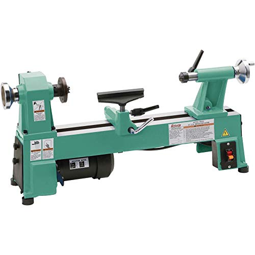 "Grizzly Industrial H8259-10"" x 18"" Benchtop Wood Lathe"