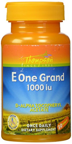 Thompson E One Grand, 1000 IU Softgels, 30 Count (1000 Grand)