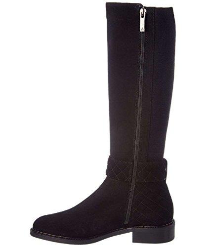 Aquatalia Womens Gabrielle Calf Hair Almond Toe Knee High, Black, Size 8.0