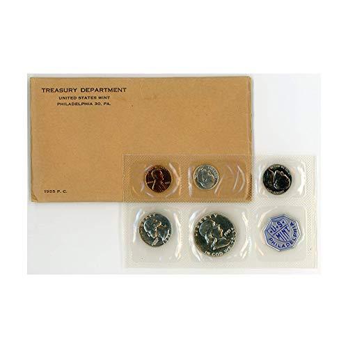 1955 US Mint Silver Proof Gem Uncirculated ()
