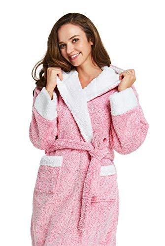 2d7d5aac29 Firecos Women s Animal Hooded Robe - Soft Bath Robe Plush