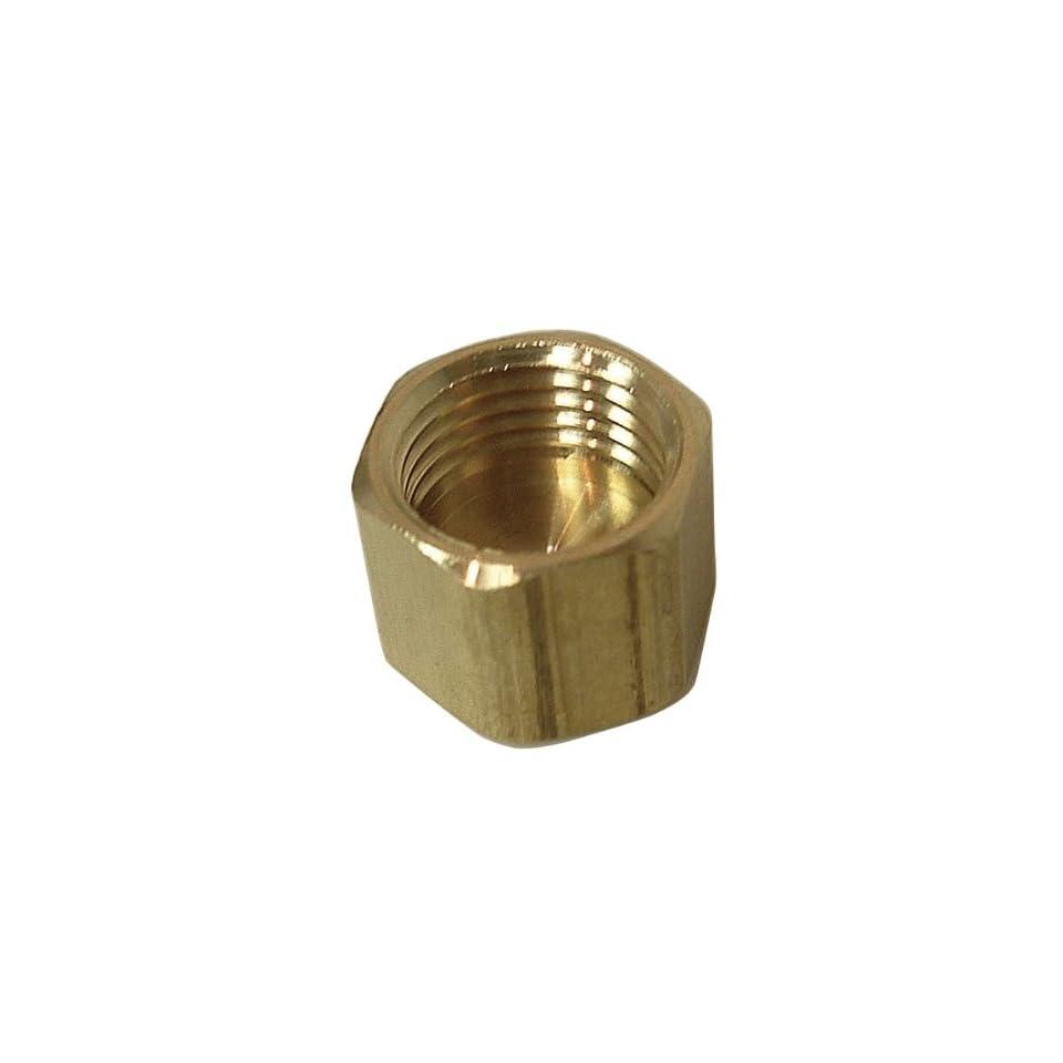 Watts A 105 Brass Compression Cap 3/8 OD 61 CX 6
