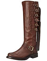 FRYE Women's Veronica Strap Tall-TUFG Engineer Boot