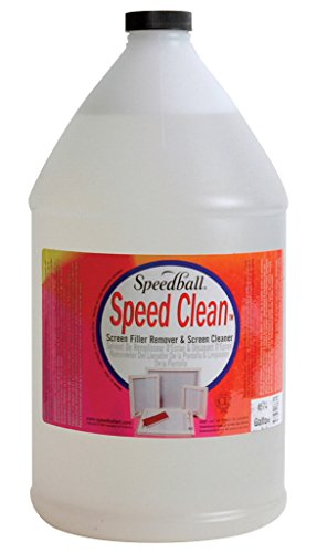 (Speedball Speed Clean Non-Toxic Screen Cleaner, 1 gal Bottle )