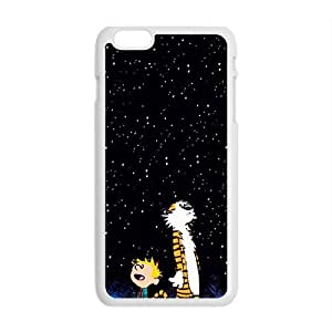 Happy Dark night star boy and tiger Cell Phone Case for Iphone 6 Plus