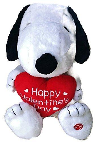 Amazon Com Peanuts Snoopy Happy Valentine S Day Plush Musical
