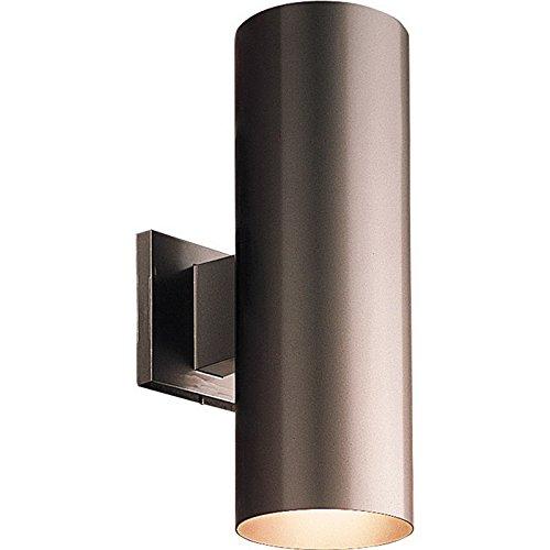 Progress® Wall Mount Up And Down Cylinder, 2 X 75 watt, PAR-30/BR-30 Incandescent Lamp, Antique Bronze