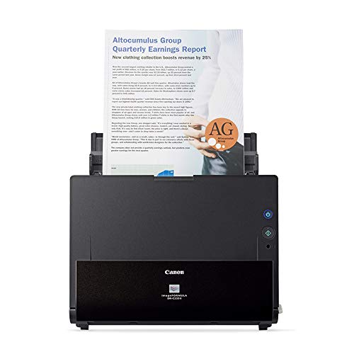 Canon imageFORMULA DR-C225 II Office Document Scanner (Best Small Office Scanner)