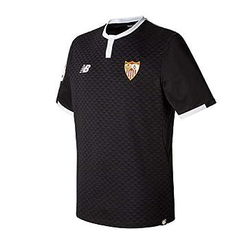 Camiseta Sevilla FC MC 3ª 2017-2018 Negro Talla XL: Amazon.es: Deportes y aire libre