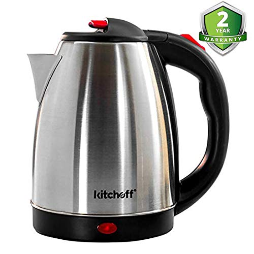 Kitchoff Automatic Stainless Steel Electric  Kettle for Home & Office (Kl4)
