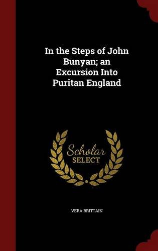 book cover of In the Steps of John Bunyan