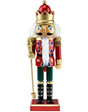 Clever Creations Nutcracker King, Soldier, Drummer