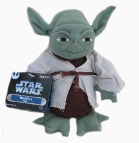 (Star Wars Trilogy Buddies Yoda Plush)